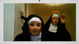 nuns interviewing virgins